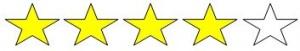 4 estrellas paintball