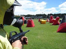 Aiguaroca paintball